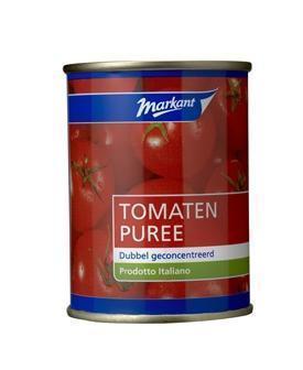 Tomatenpuree dubbel geconcentreerd (blik, 140g)