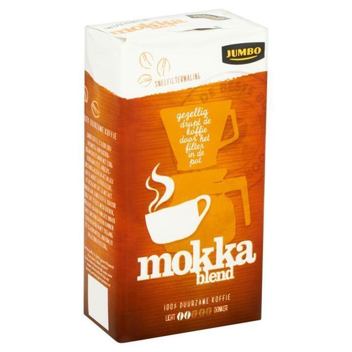 Jumbo Snelfiltermaling Mokka Blend 250g (250g)