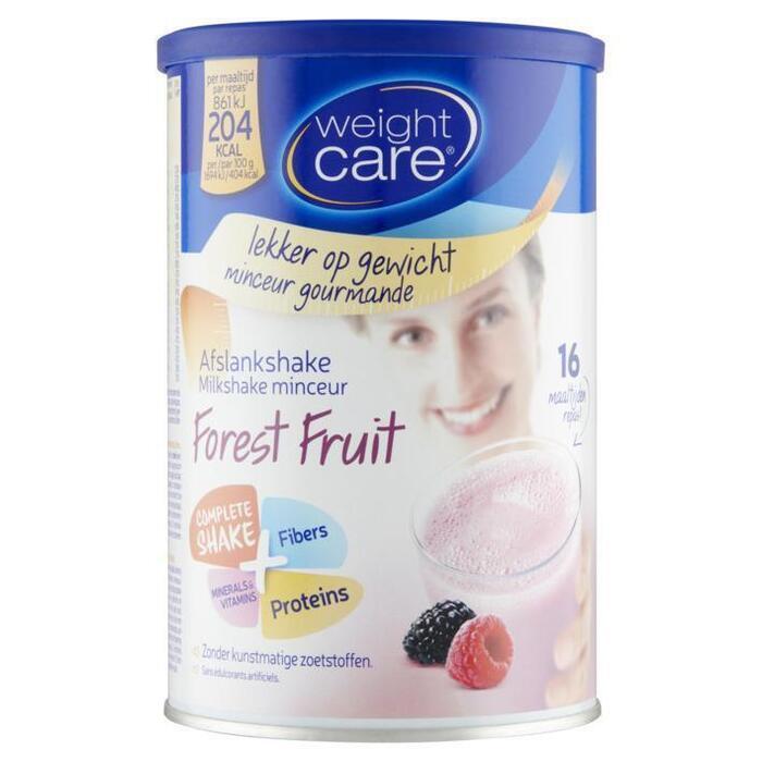 Weight Care Afslankshake Forest Fruit 436 g (436g)