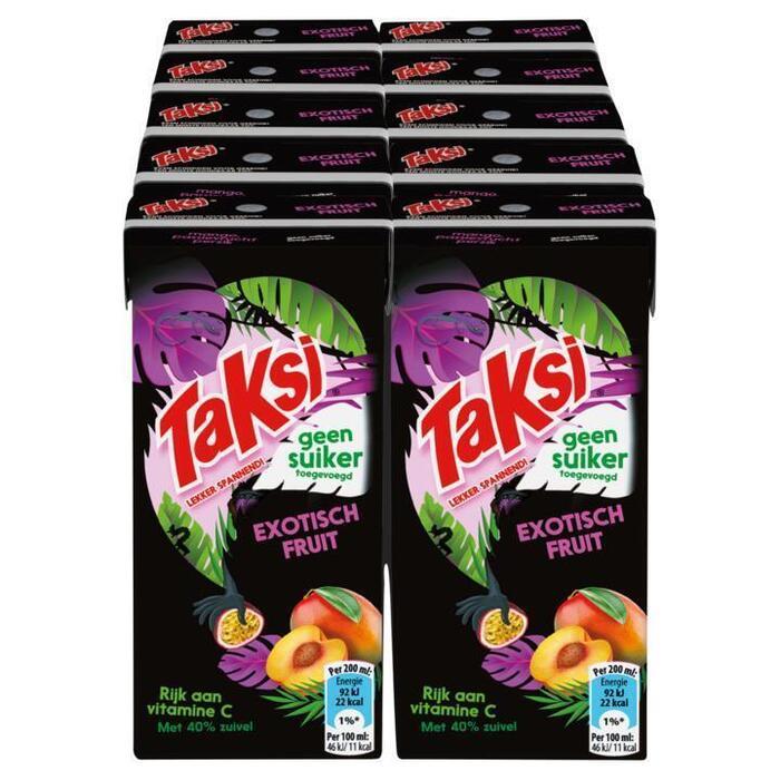Taksi Exotisch Fruit Geen Suiker Toegevoegd 10 x 200ml (200ml)