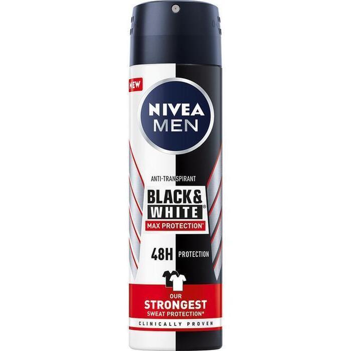 Nivea Black&white max protection spray (150ml)