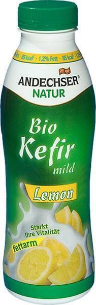 Kefir mild limoen (plastic fles, 500g)