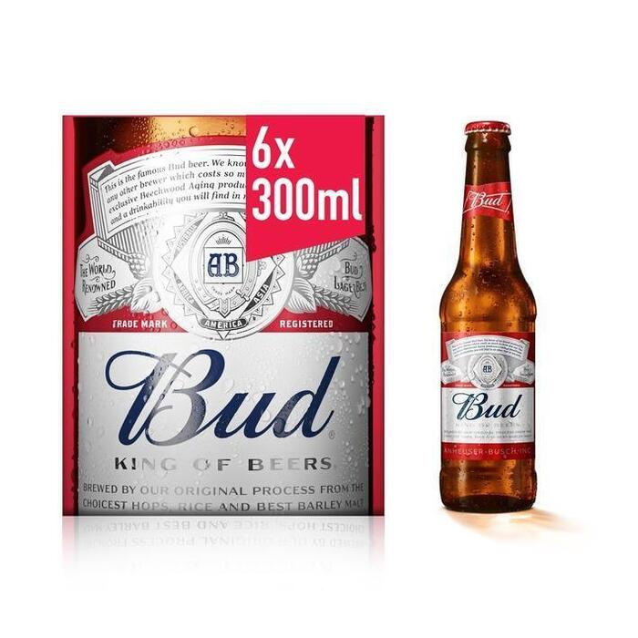 Bud Mono (rol, 6 × 30cl)