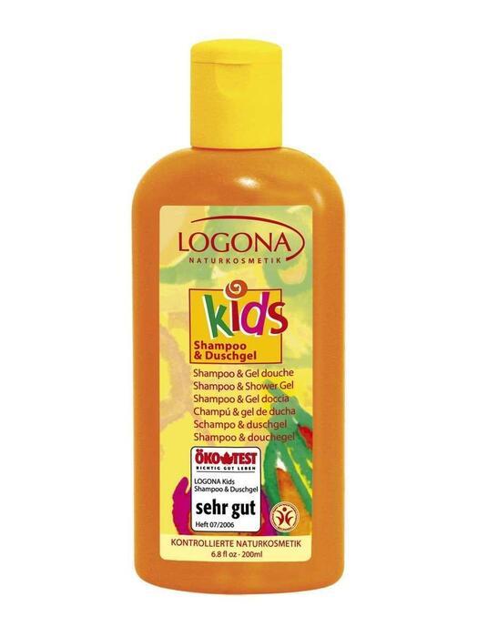 Kids 2-in-1 Shampoo+Douchegel Logona 200ml (200ml)