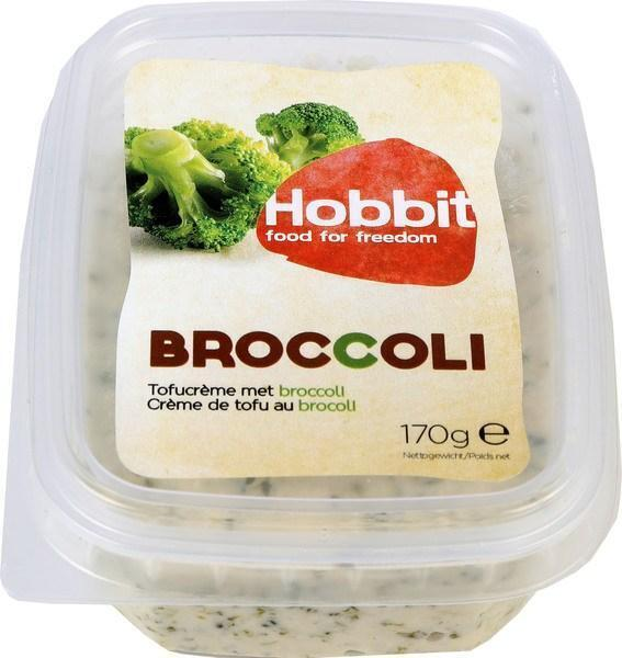Tofucrème met broccoli (bakje, 170g)