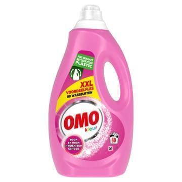 Omo Vloeibaar Wasmiddel Kleur 80 Wasbeurten (4L)