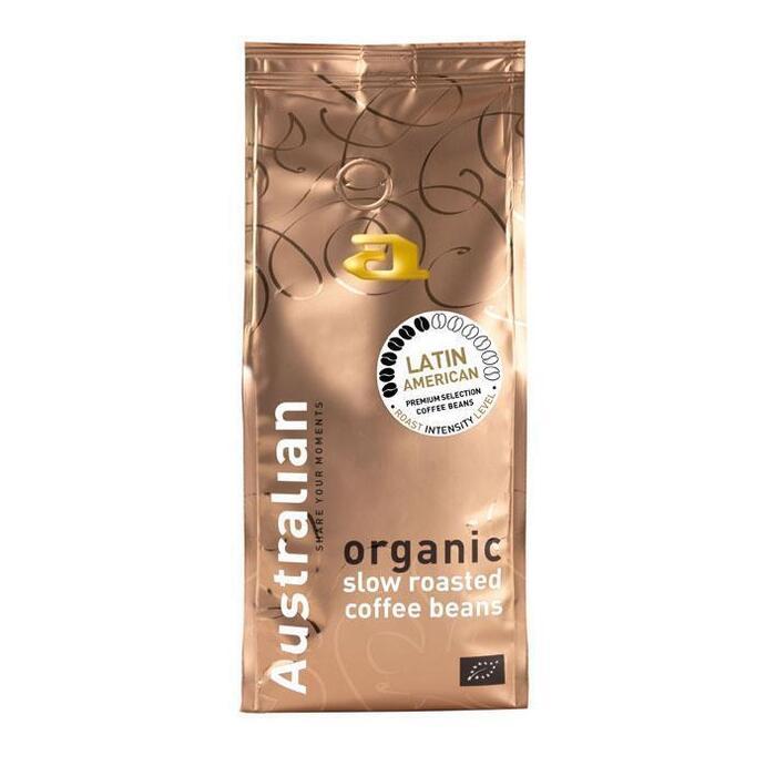 Australian Coffee beans latin american biologisch (500g)