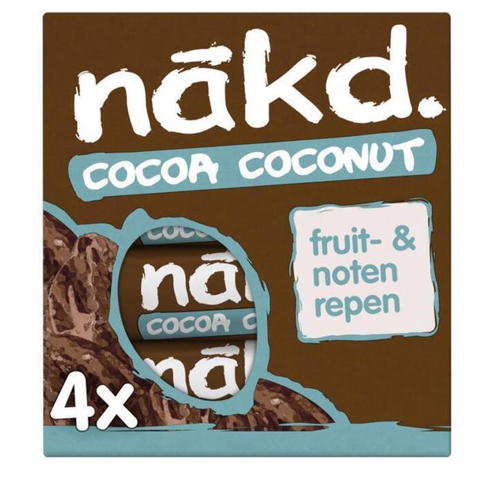 Nakd Cocoa coconut (4 × 35g)