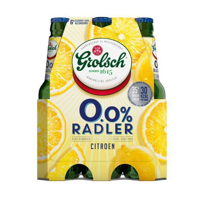 0.0% radler citroen (rol, 6 × 30cl)
