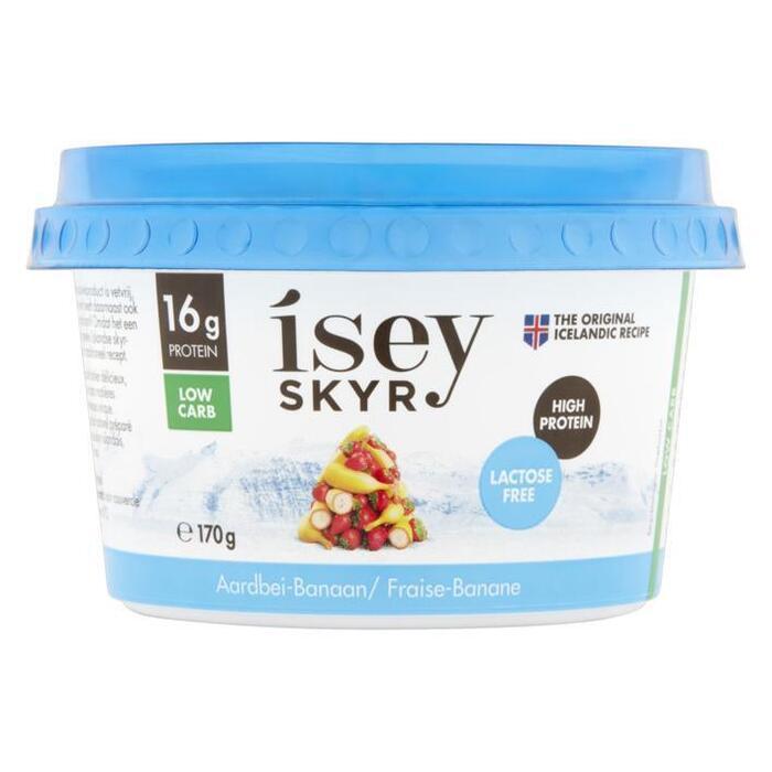 Isey Skyr aardbei-banaan 170g (170g)