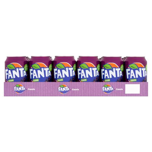 Fanta Cassis 24 x 330 ml (33cl)