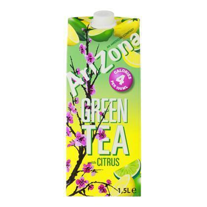 Arizona Green tea citrus low calorie (rol, 150 × 1.5L)