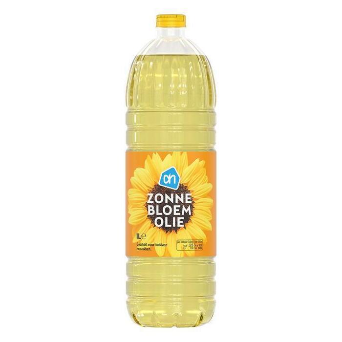 Zonnebloemolie (plastic, 1L)