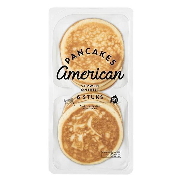 American pancakes naturel