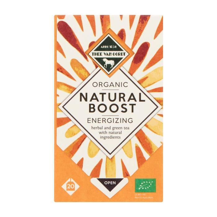 Thee van Oordt Natural boost thee (20 × 30g)