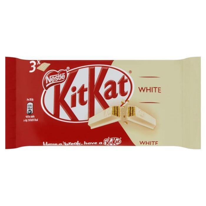 Kitkat 4 finger white 3-pack (125g)