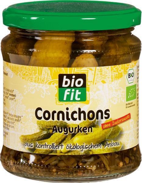 Cornichons zonder suiker (330g)