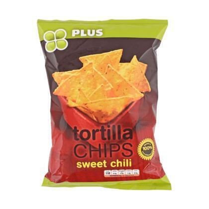 Tortilla chips sweet chili (165g)