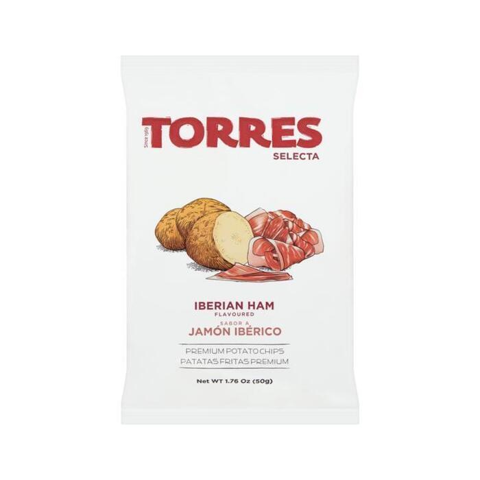 Torres chips ham smaak 50 gram (50g)