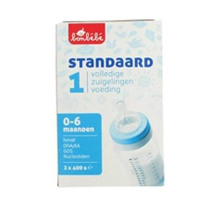 Bonbebe Standaard 1 zuigelingenvoeding 2x 400 gram (800g)
