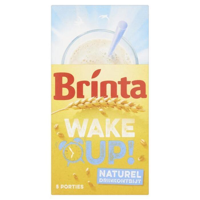 Wake up! Drinkontbijt naturel (Stuk, 5 × 22g)