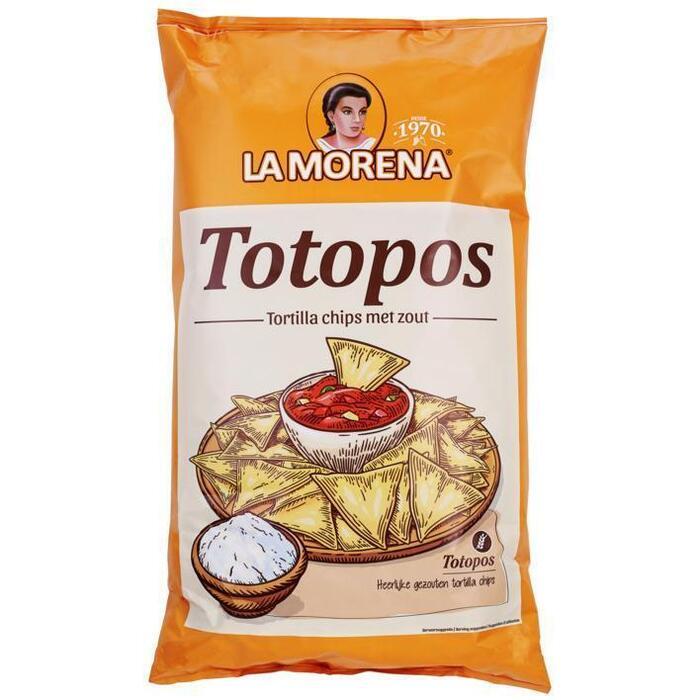 La Morena Tortilla chips met zeezout (475g)