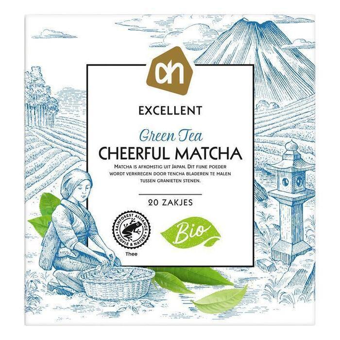 AH Excellent Groene tea cheerful matcha