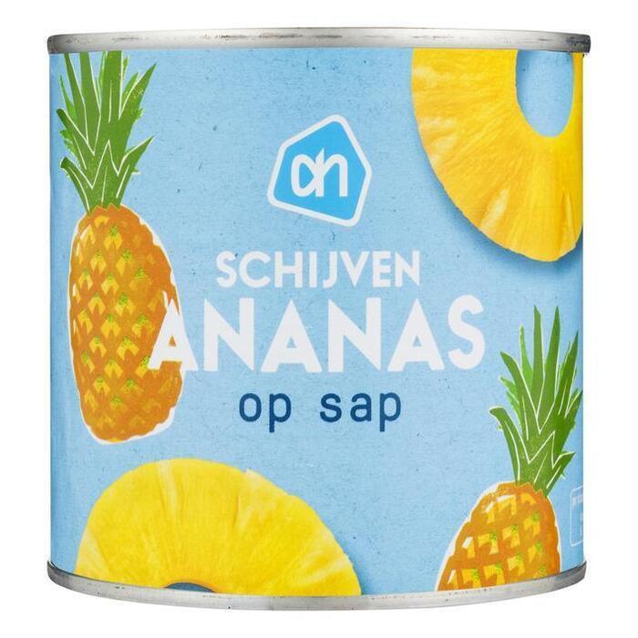 Ananasschijven op sap (blik, 425g)