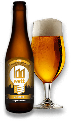 Stadsbrouwerij Eindhoven 40 Watt 33cl (33cl)