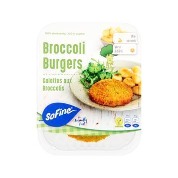 Broccoli burgers (2 stuks) (170g)