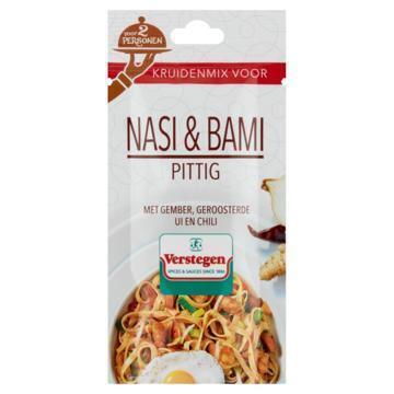 Verstegen Kruidenmix voor Nasi & Bami Pittig 15 g (15g)