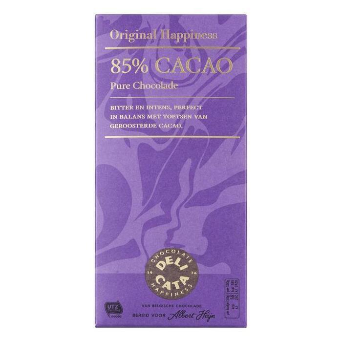 Delicata, Pure Chocolade 85% (100g)