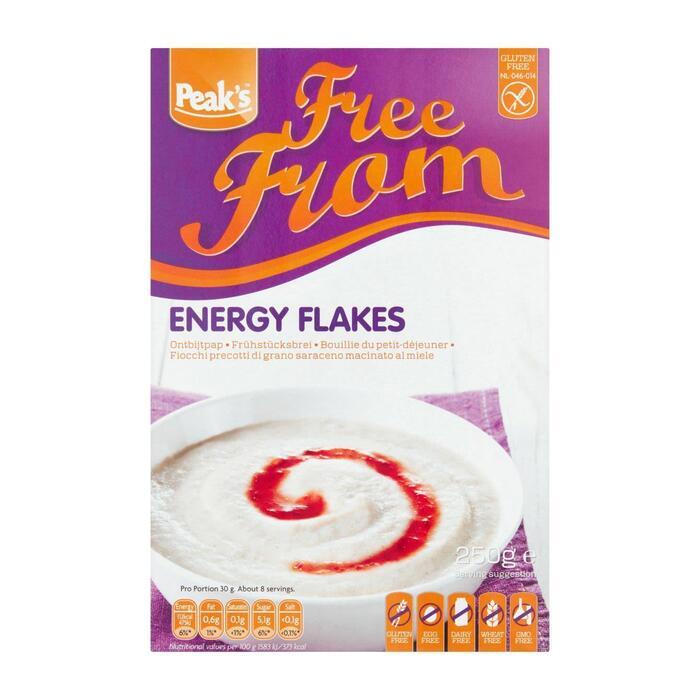 Peak's Energy flakes glutenvrij (250g)