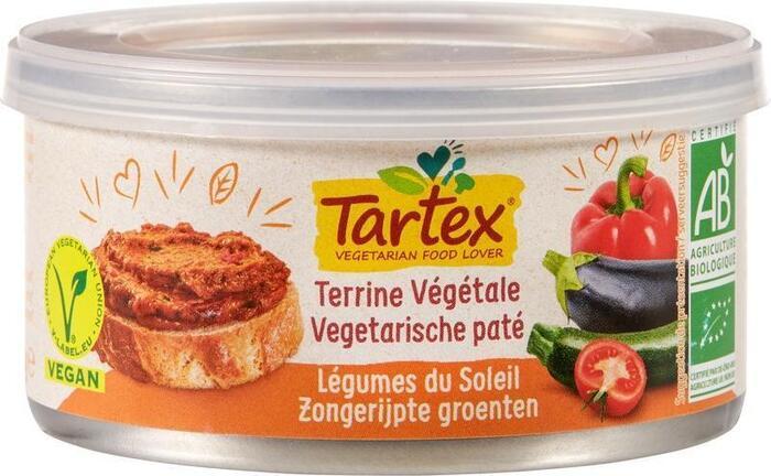 Vega paté zongerijpte groenten (125g)