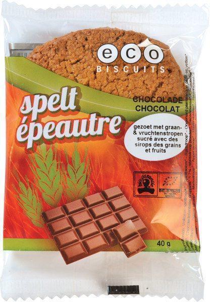 Spelt-chocoladekoek (40g)