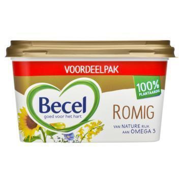 Becel Romig voor op brood (kuipje, 575g)