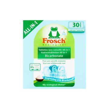Frosch 30 Vaatwastabletten All-in-One Bicarbonate 600g (600g)
