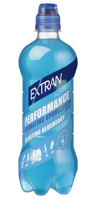 Extran Performance Blueberry 0,5 L (0.5L)