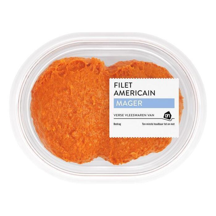 Filet Americain Mager (plastic bak, 150g)