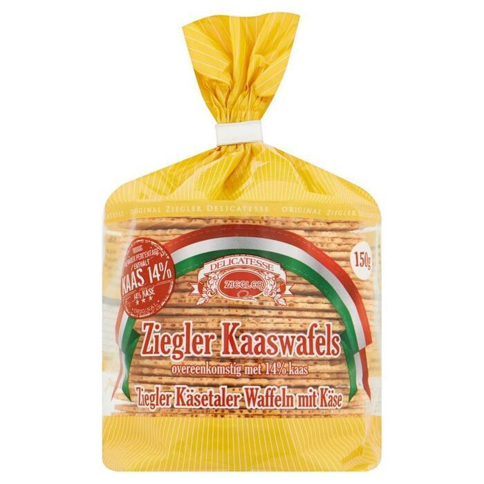 Kaaswafels (zak, 150g)