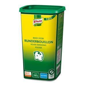 Knorr Bouillon Poed Vlees Na 1.1Kg 6X (6 × 1.1kg)