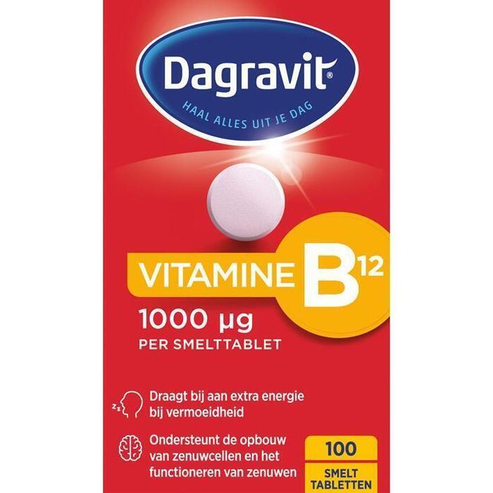Dagravit Vitamine B12 smelttabletten (100 × 36g)