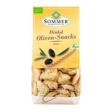 Oliven snacks spelt met olijven (150g)