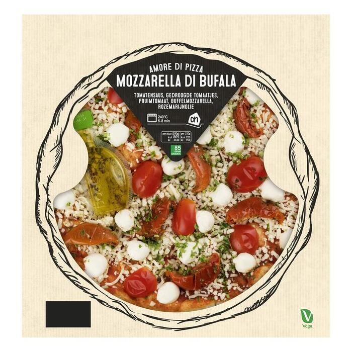 AH Verse pizza pomodori buffalo 24cm (380g)