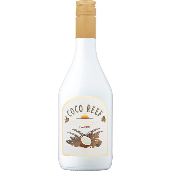 Coco Reef Liqueur with Caribbean Rum and Coconut Flavour 70 cl (0.7L)