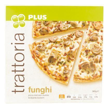 Trattoria pizza Funghi (365g)
