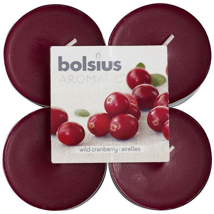 Bolsius Geurtheelichten cranberry maxi