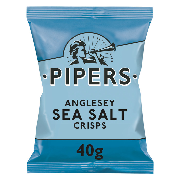 Pipers Crisp Anglesey Sea Salt 24 x 40 g (40g)
