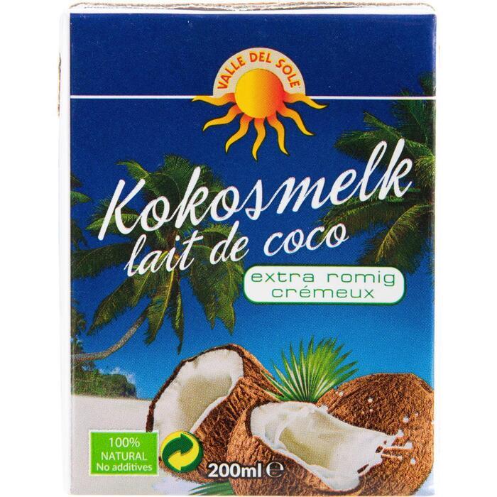 Kokosmelk extra romig (200ml)