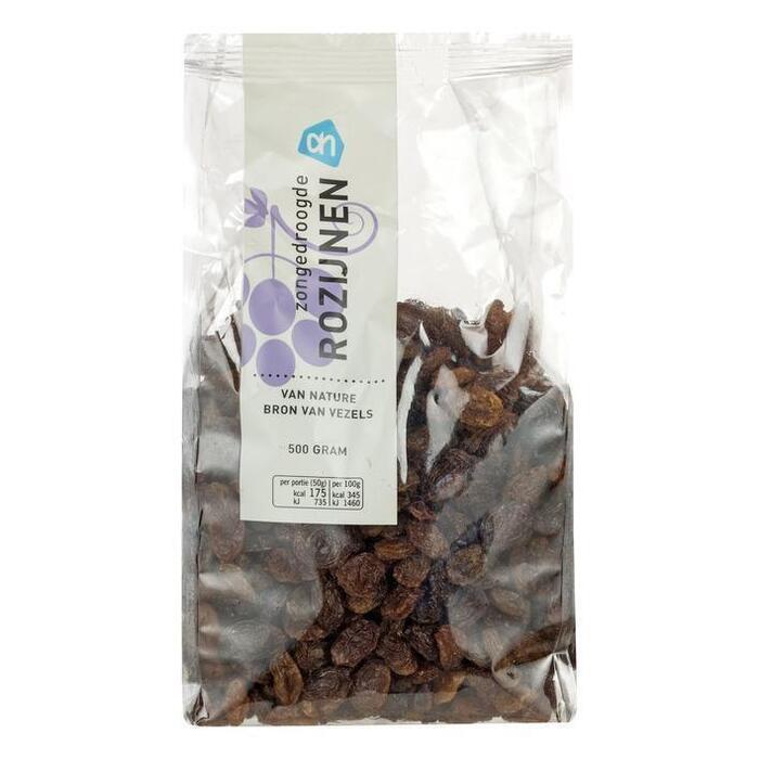Rozijnen (zak, 500g)